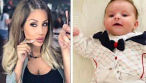 Джулиана Гани пръска луди пари за дрешки на сина си